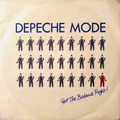 Cover Depeche Mode - Get The Balance Right! (7, Single) Schallplatten Ankauf