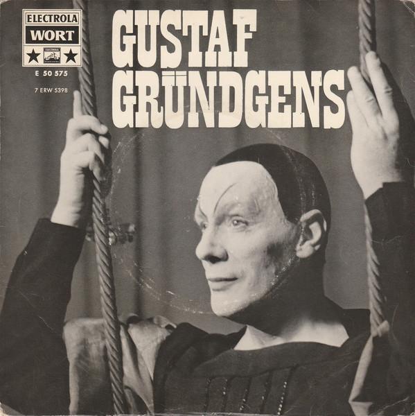 Cover Gustaf Gründgens - Mephisto-Lieder / Tierfabel / Sein Oder Nichtsein (7, EP) Schallplatten Ankauf
