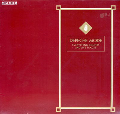 Cover Depeche Mode - Everything Counts And Live Tracks (LP, MiniAlbum, RE) Schallplatten Ankauf