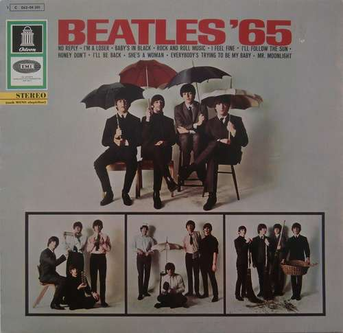 Cover The Beatles - Beatles '65 (LP, Album, RP, Tel) Schallplatten Ankauf
