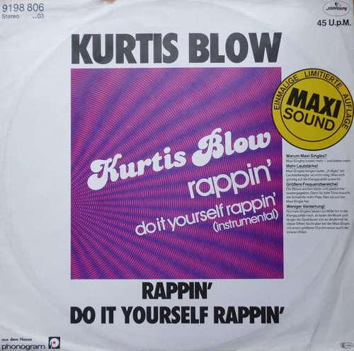 Cover Kurtis Blow - Rappin' (12, Maxi, Ltd) Schallplatten Ankauf