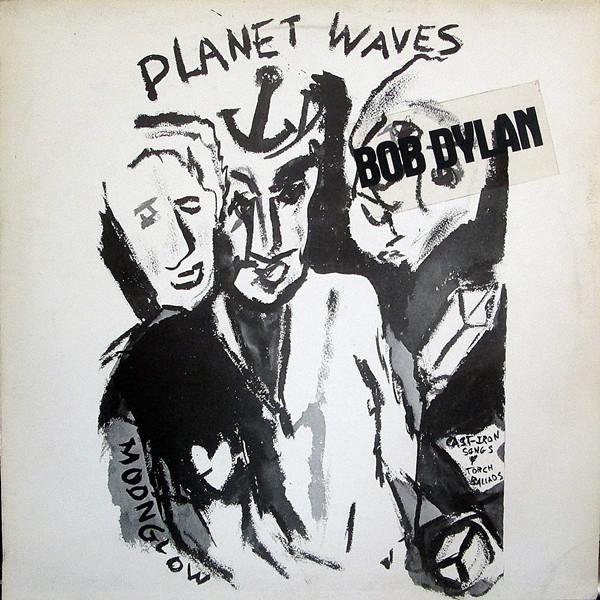 Cover zu Bob Dylan - Planet Waves (LP, Album) Schallplatten Ankauf