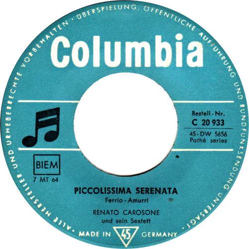 Bild Renato Carosone Und Sein Sextett* - Piccolissima Serenata / Torero (7, Single, RP) Schallplatten Ankauf