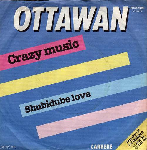 Bild Ottawan - Crazy Music / Shubidube Love (7, Single) Schallplatten Ankauf