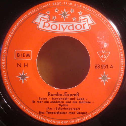 Bild Das Tanzorchester Max Greger* - Rumba-Expreß (7, Single, Mono) Schallplatten Ankauf