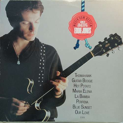 Bild Eddie Jones (6) - 20 Guitar Greats (LP, Album) Schallplatten Ankauf