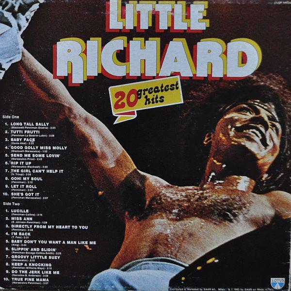 Cover Little Richard - 20 Greatest Hits (LP, Comp) Schallplatten Ankauf