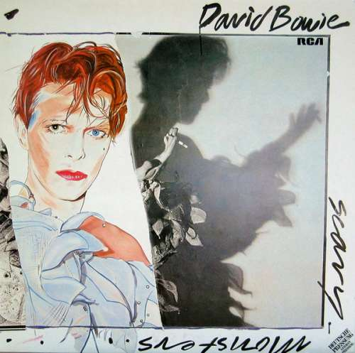 Cover David Bowie - Scary Monsters (LP, Album, Ora) Schallplatten Ankauf
