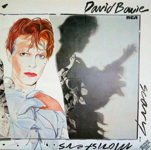 Cover zu David Bowie - Scary Monsters (LP, Album, Ora) Schallplatten Ankauf