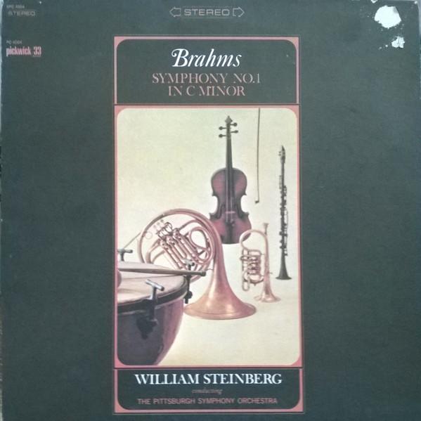 Bild Johannes Brahms, The Pittsburgh Symphony Orchestra - Symphony No.1 in C Minor (LP) Schallplatten Ankauf