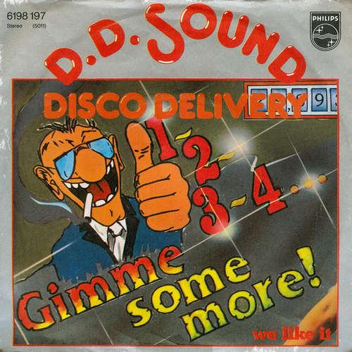 Bild D.D. Sound - 1-2-3-4... Gimme Some More! (7, Single) Schallplatten Ankauf