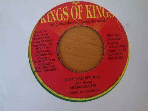 Bild Utan Green - Give Jah My All (7, Single) Schallplatten Ankauf