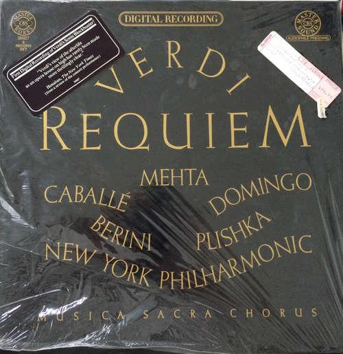Bild Giuseppe Verdi, Montserrat Caballé, Placido Domingo, Bianca Berini, Paul Plishka, The New York Philharmonic Orchestra, Musica Sacra Chorus, Zubin Mehta - Requiem (2xLP) Schallplatten Ankauf