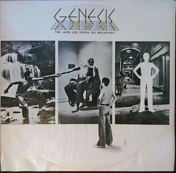 Cover Genesis - The Lamb Lies Down On Broadway (2xLP, Album, RP, Gat) Schallplatten Ankauf