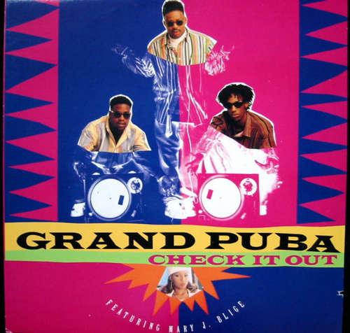 Cover Grand Puba - Check It Out (12) Schallplatten Ankauf