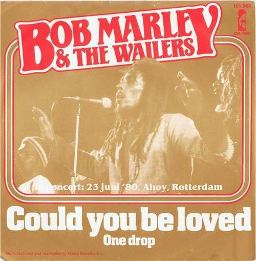 Cover Bob Marley & The Wailers - Could You Be Loved (7, Single) Schallplatten Ankauf