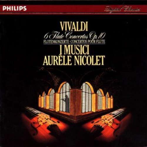 Bild Vivaldi* - I Musici, Aurèle Nicolet - 6 Flute Concertos, Op. 10 (CD) Schallplatten Ankauf