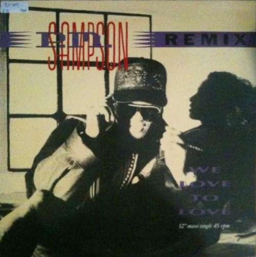 Cover P.M. Sampson - We Love To Love (Remix) (12, Maxi) Schallplatten Ankauf