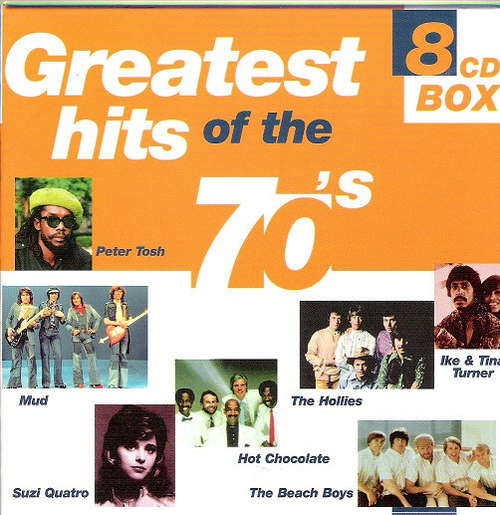 Cover Various - Greatest Hits Of The 70's (8xCD, Comp + Box, RE) Schallplatten Ankauf