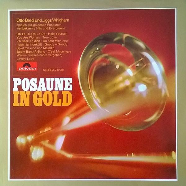 Cover Otto Bredl, Jiggs Whigham - Posaune In Gold (LP, Album) Schallplatten Ankauf