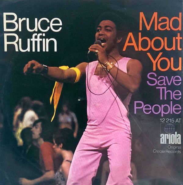Cover Bruce Ruffin - Mad About You / Save The People (7, Single) Schallplatten Ankauf