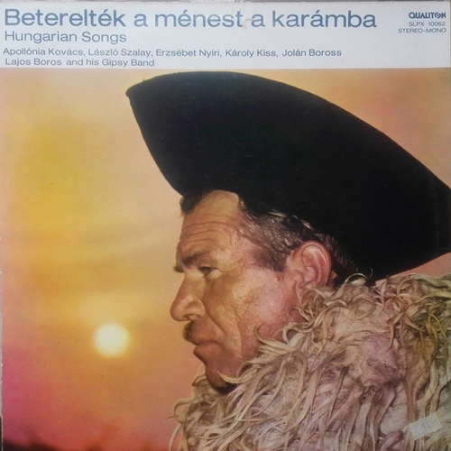 Cover Various - Beterelték A Ménest A Karámba - Hungarian Songs (LP, Comp) Schallplatten Ankauf