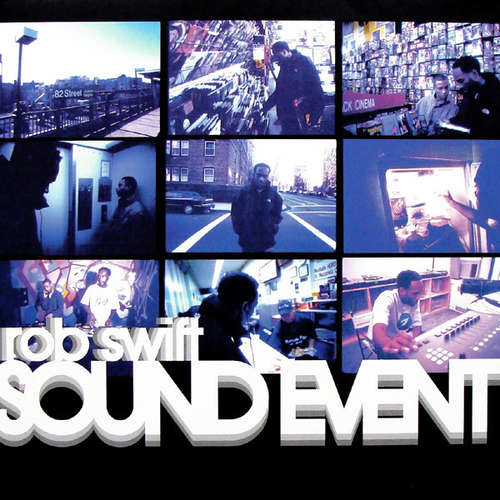Cover Rob Swift - Sound Event (2xLP, Album) Schallplatten Ankauf
