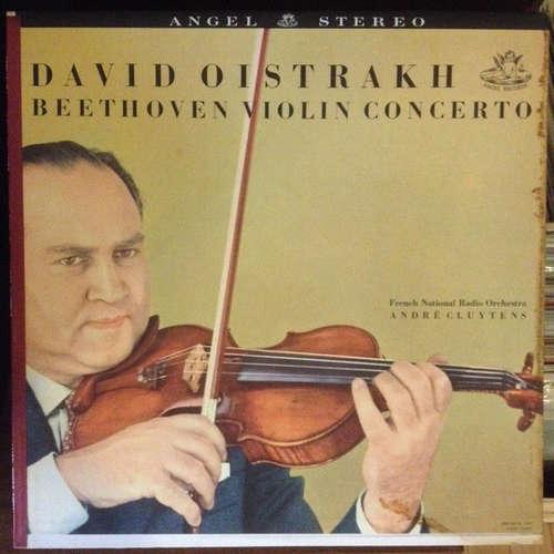 Cover zu Beethoven* / David Oistrakh* / Orchestre National De La Radiodiffusion Française* / André Cluytens - Violin Concerto (LP, Album) Schallplatten Ankauf