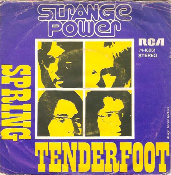 Bild Strange Power - Tenderfoot (7, Single) Schallplatten Ankauf