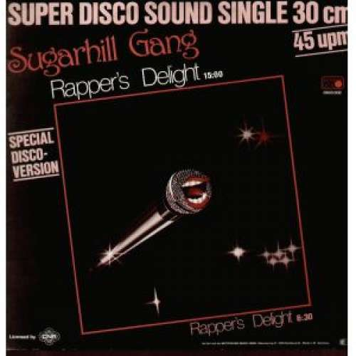 Cover Sugarhill Gang - Rapper's Delight (12, Single, Spe) Schallplatten Ankauf