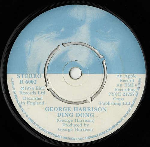 Bild George Harrison - Ding Dong (7, Single) Schallplatten Ankauf