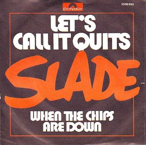 Bild Slade - Let's Call It Quits (7, Single) Schallplatten Ankauf
