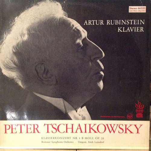Bild Peter Tschaikowsky*, Artur Rubinstein*, Bostoner Symphonie-Orchester*, Erich Leinsdorf - Klavierkonzert Nr. 1 B-Moll Op. 23 (LP, Club) Schallplatten Ankauf