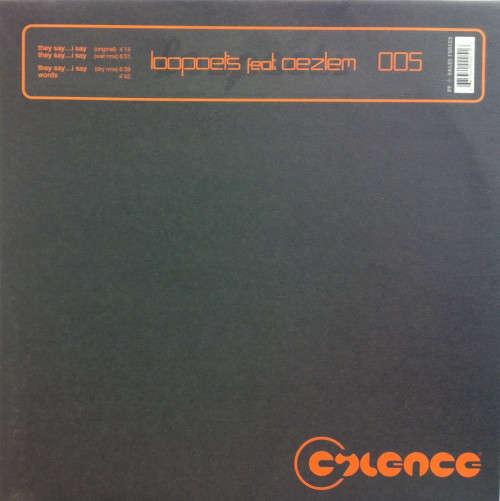 Cover Loopoets Feat. Oezlem - They Say ... I Say (12) Schallplatten Ankauf