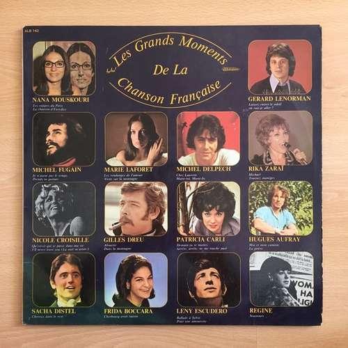 Cover Various - Les Grands Moments de la Chanson Française (2xLP, Comp) Schallplatten Ankauf