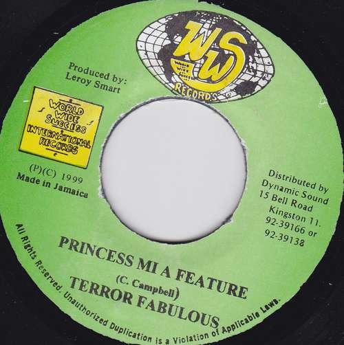 Cover Terror Fabulous - Princess Mi A Feature (7) Schallplatten Ankauf