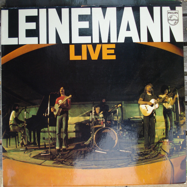 Cover Leinemann - Leinemann Live (LP, Album, Gat) Schallplatten Ankauf