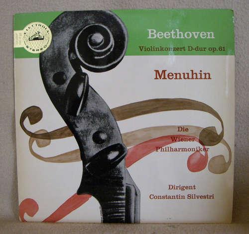 Bild Ludwig van Beethoven, Yehudi Menuhin, Constantin Silvestri, Wiener Philharmoniker - Violinkonzert D-dur Op. 61 (LP, Album) Schallplatten Ankauf