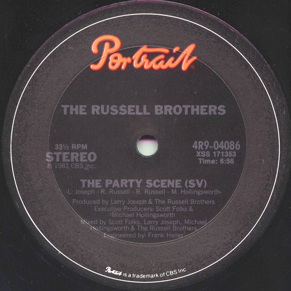 Cover The Russell Brothers - The Party Scene (12) Schallplatten Ankauf