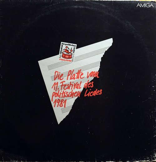Cover Various - Rote Lieder - 11. Festival Des Politischen Liedes  (LP, Comp) Schallplatten Ankauf
