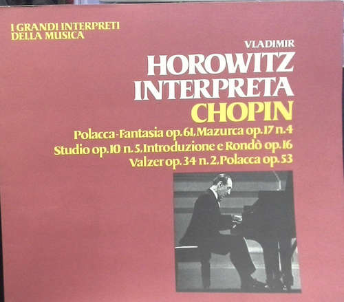 Bild Chopin* / Vladimir Horowitz - Horowitz Interpreta Chopin (LP, Album) Schallplatten Ankauf