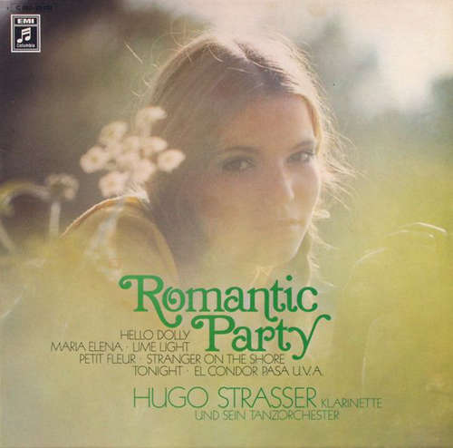 Cover Hugo Strasser Und Sein Tanzorchester - Romantic Party (LP) Schallplatten Ankauf