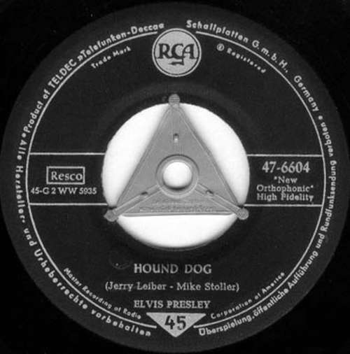 Cover Elvis Presley - Don't Be Cruel / Hound Dog (7, Single, S 2) Schallplatten Ankauf