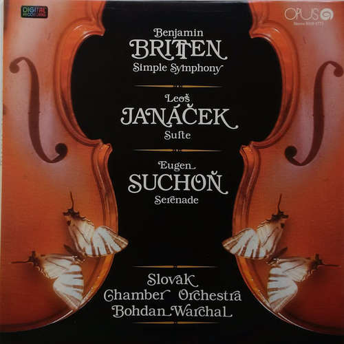 Bild Benjamin Britten / Leoš Janáček / Eugen Suchoň / Slovak Chamber Orchestra - Simple Symphony / Suite / Serenade (LP, Comp, Dig) Schallplatten Ankauf