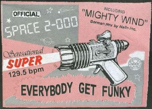 Bild Space 2-000 - Everybody Get Funky (12) Schallplatten Ankauf