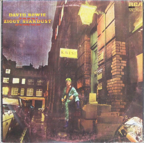Cover David Bowie - The Rise And Fall Of Ziggy Stardust And The Spiders From Mars (LP, Album, RE) Schallplatten Ankauf