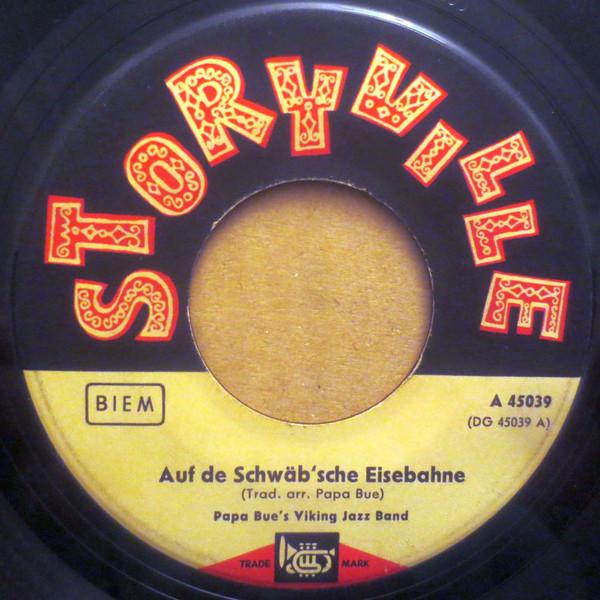 Cover Papa Bue's Viking Jazz Band - Auf De Schwäb'sche Eisebahne (7) Schallplatten Ankauf