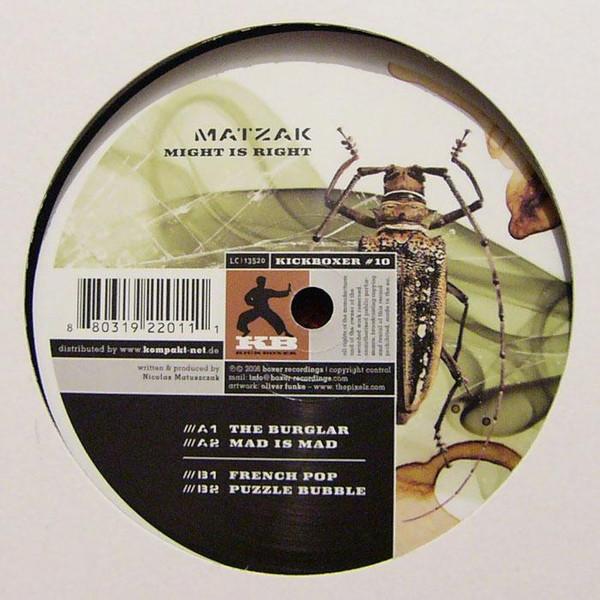 Bild Matzak - Might Is Right (12) Schallplatten Ankauf
