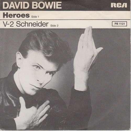 Cover David Bowie - Heroes (7) Schallplatten Ankauf