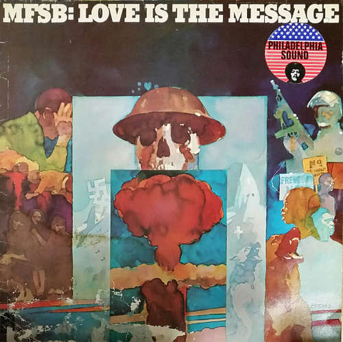 Cover zu MFSB - Love Is The Message (LP, Album, RP) Schallplatten Ankauf